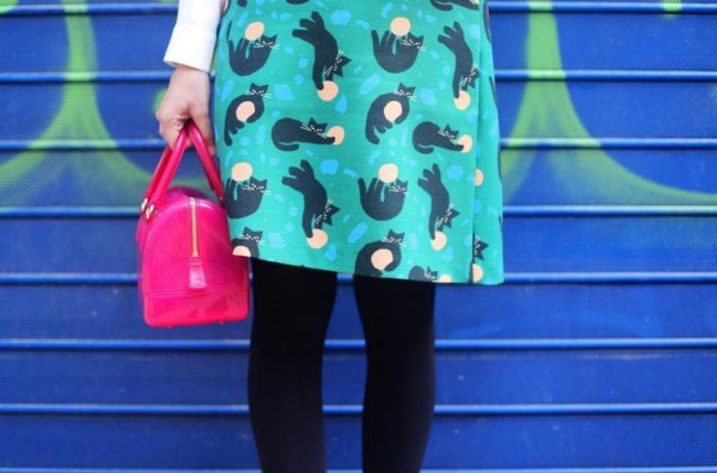 Lazzari - Cat inspired skirt!