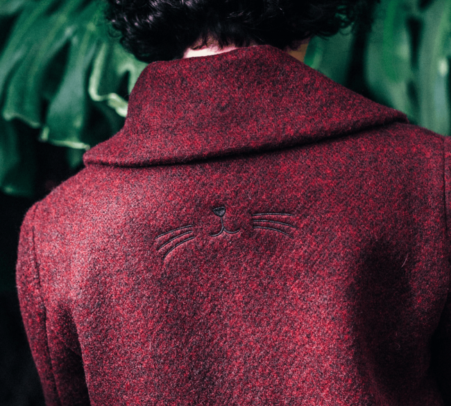 Miss Patina Coat Details