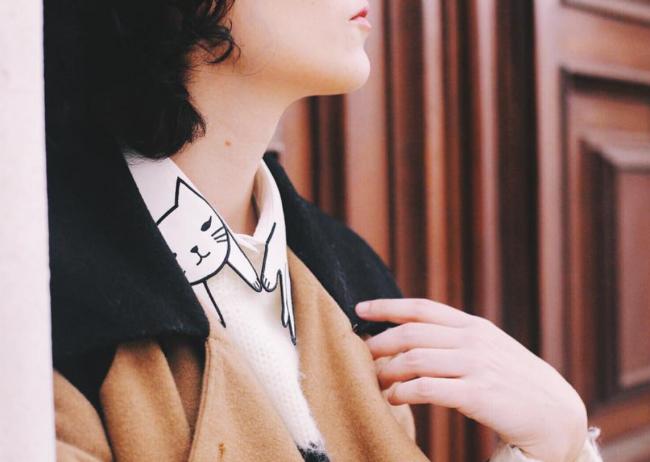 Miss Patina Cat Collar